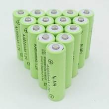 6XAA battery New Original 600mAh 1.2V NiMH Rechargeable Battery Free shipping
