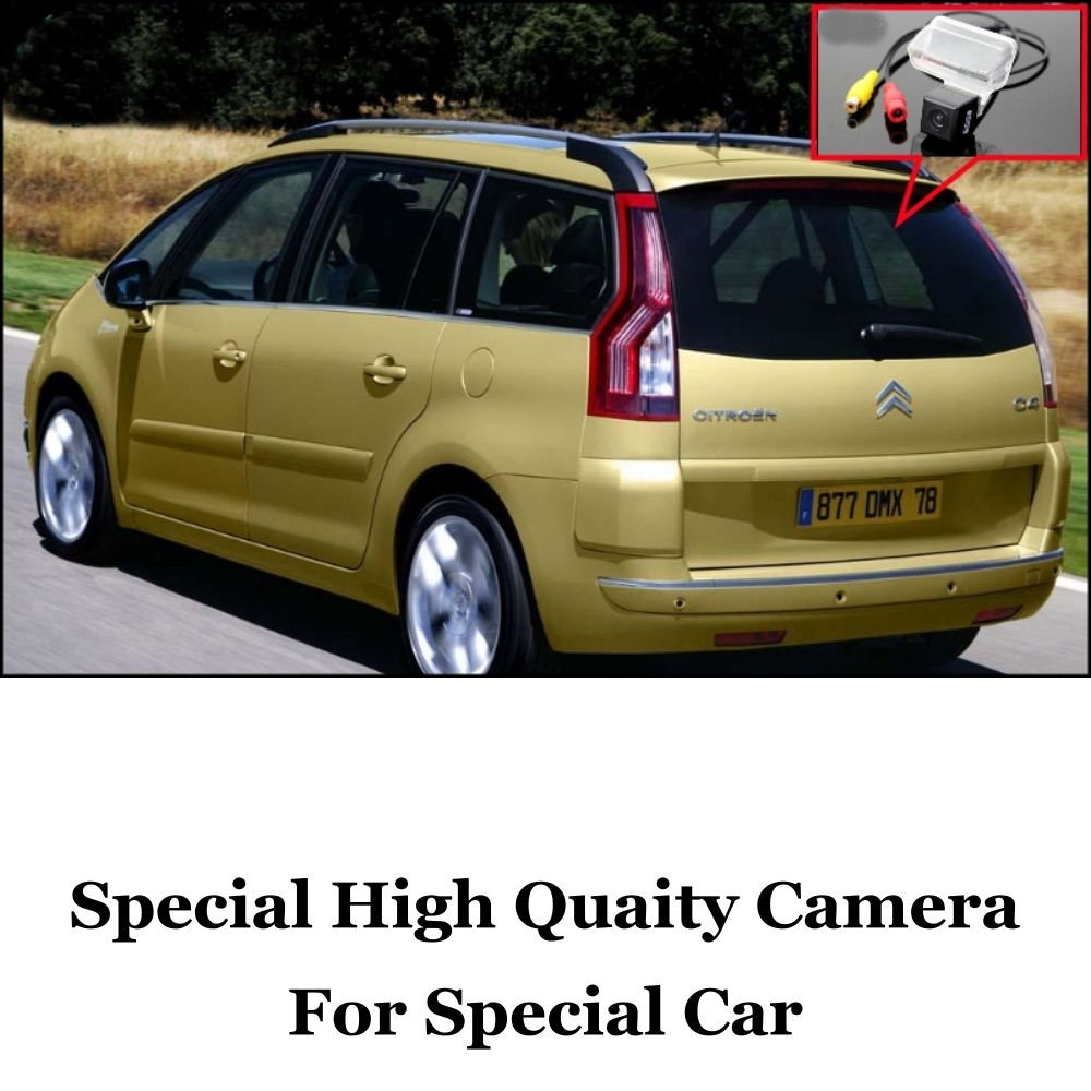 Car Camera For Citroen C4 Picasso High Quality Rear View Back Up Camera For Friends Use  CCD + RCACar 1