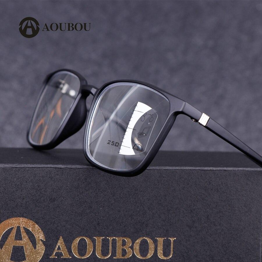 Прогрессивные очки для чтения, дизайнерские оптические очки для мужчин, очки для чтения