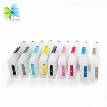 Winnerjet 9 Color 700ml T8041-T8049 Empty Refill Ink Cartridge For Epson P6000 P8000 printer