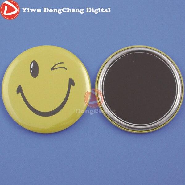 все цены на Free Shipping Customized 58MM Magnet Button Badge  100pcs, онлайн