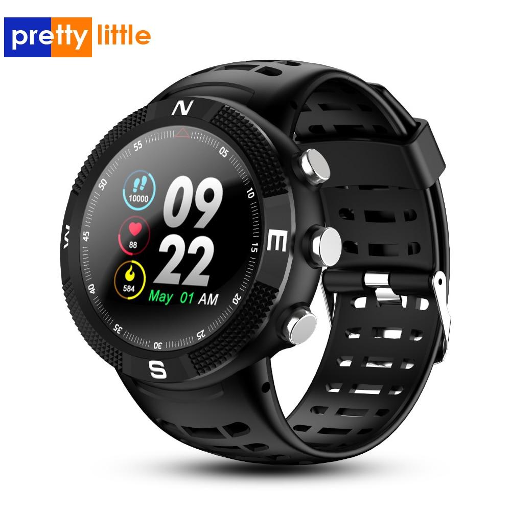 F18 Outdoor GPS Positioning Sports Smart Watch Waterproof Compass Watch Call Message Reminder Heart Rate Smartwatch