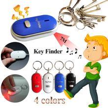 Свисток, ключевой искатель мигающий пищать дистанционного потерянный обнаружитель ключей локатор брелок