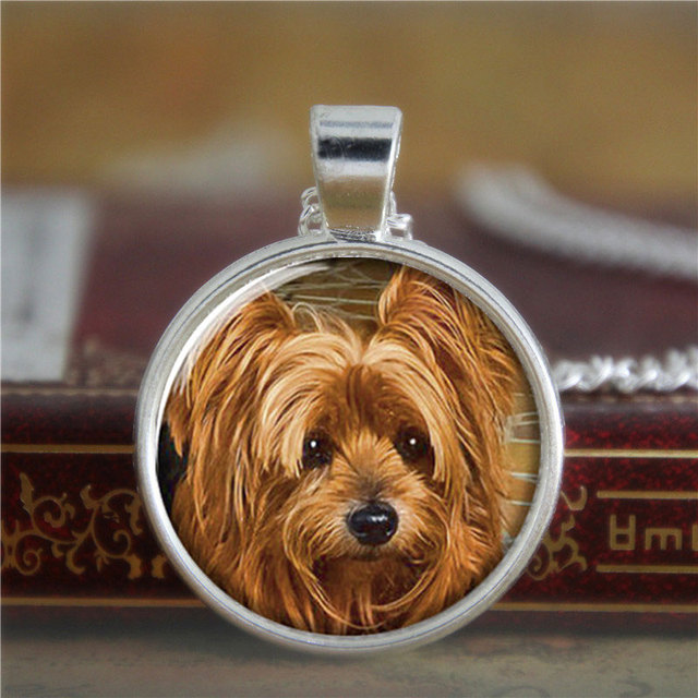 10pcslot yorkie necklace yorkshire terrier puppy gift for yorkie 10pcslot yorkie necklace yorkshire terrier puppy gift for yorkie lover necklace print photo aloadofball Gallery