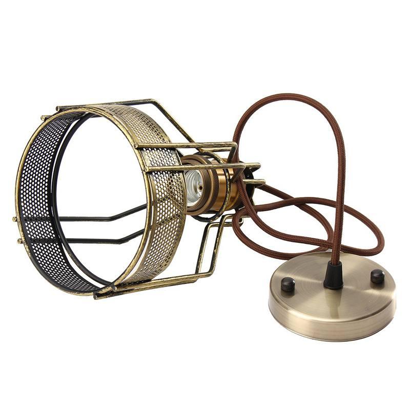 140x200mm Edison Eisen Retro Vintage Hängeleuchte Lampe Schutz ...