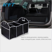 Car styling Trunk Organizer Toys Food bag Box Stowing Tidying Automobile Interior Accessories Folding Collapsible