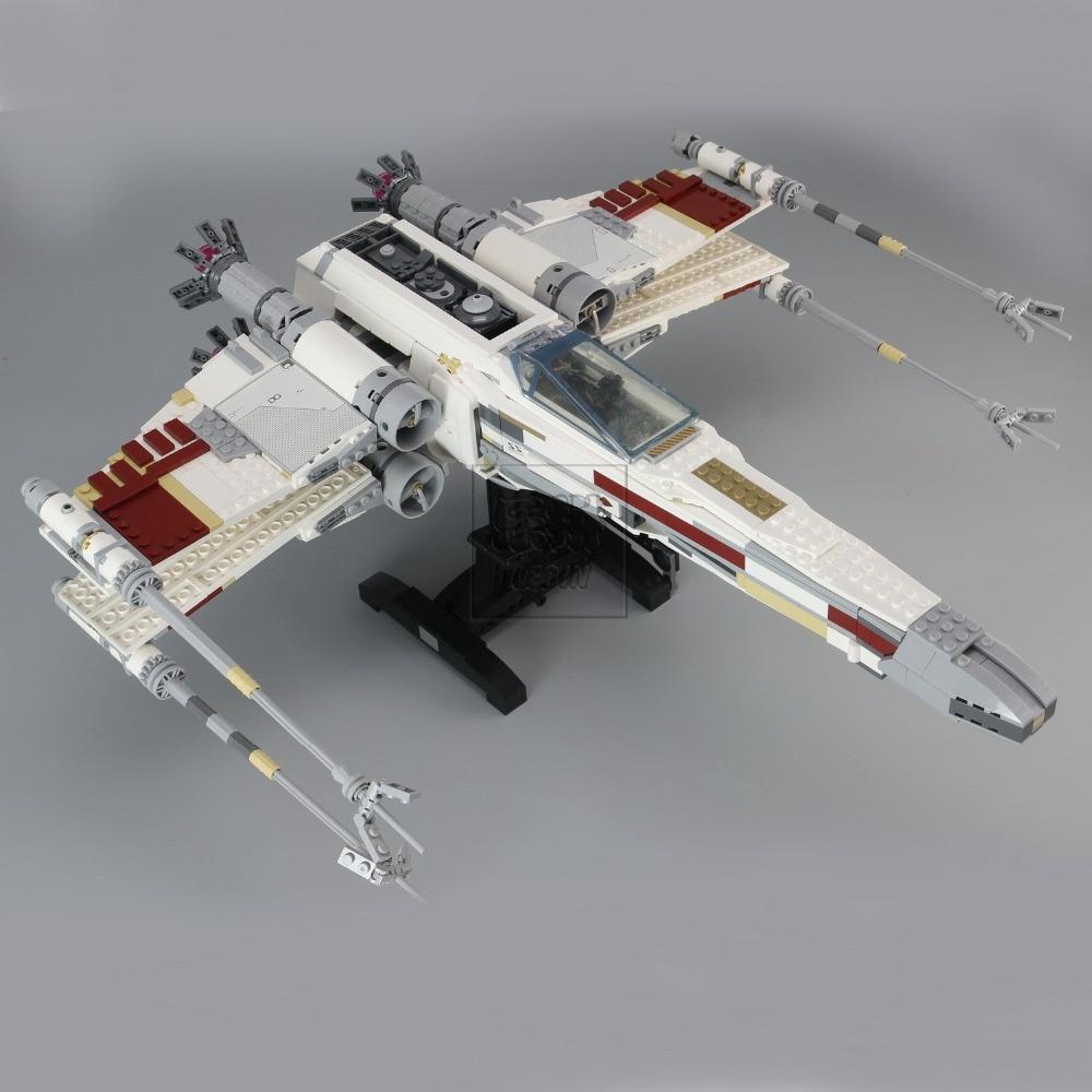 05039 Stars Cool Model Wars 1586pcs Red Five X Starfighter wing Building Blocks Bricks toy