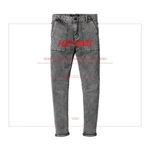 Image 2 - سيموود 2020 موضة الربيع الجديد من سراويل الجينز الرجالية ذات العلامة التجارية الممشوقة بمقاسات كبيرة ملابس الشتاء عالية الجودة NC017060