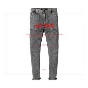 Image 2 - SIMWOOD 2020 봄 새로운 패션 청바지 남자 브랜드 데님 바지 슬림 맞는 플러스 크기 겨울 의류 고품질 NC017060