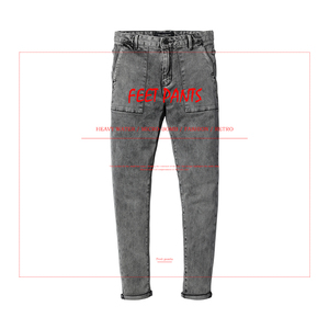Image 2 - SIMWOOD 2020 primavera nueva moda Jeans hombres marca Denim Pantalones Slim Fit Plus Size ropa de invierno de alta calidad NC017060