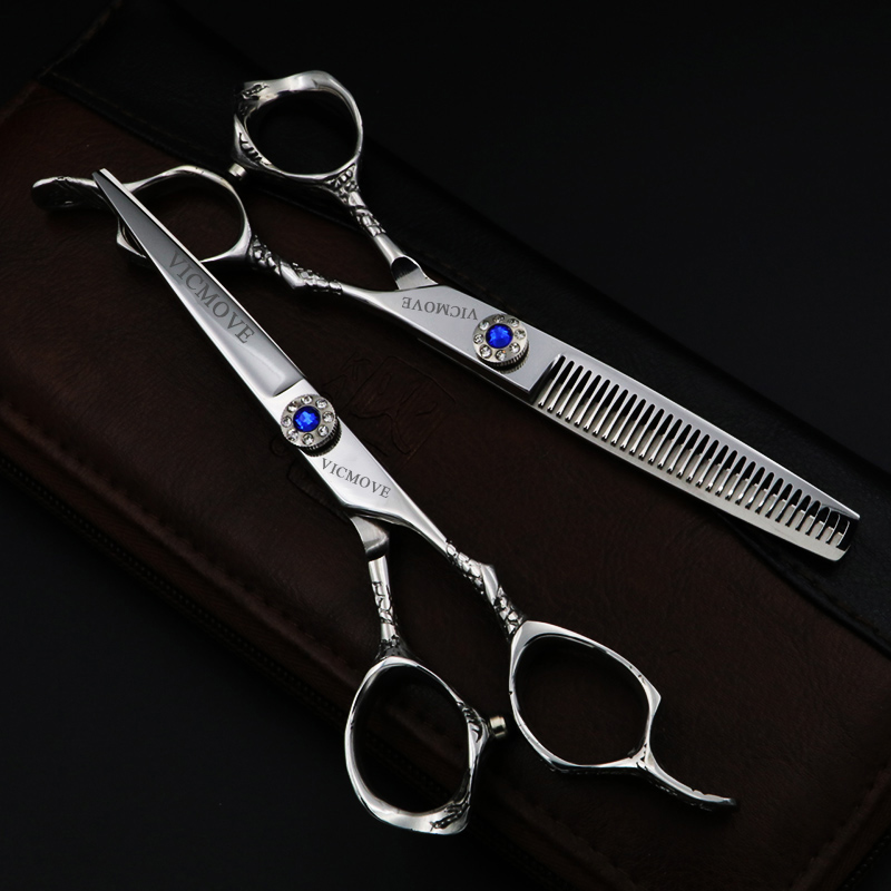 Japão 6 Polegada tesoura de cabeleireiro profissional