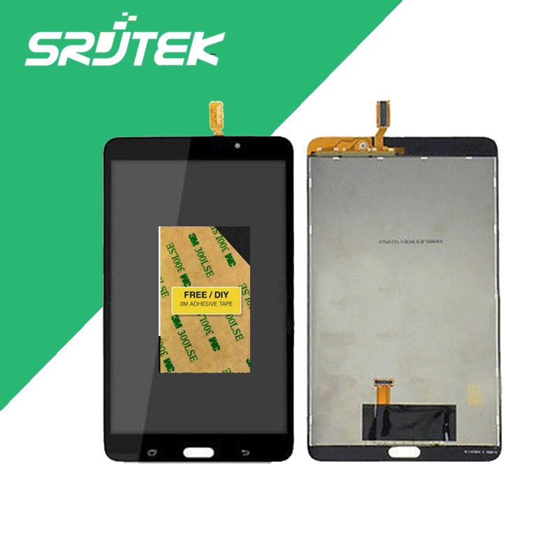 for Samsung Galaxy Tab 4 7.0 SM-T230 T230 Full LCD Display Panel + Black Touch Screen Digitizer Glass Assembly Replacement