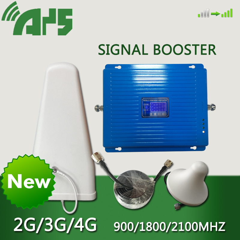 2G 3G 4G 900G 1800 2100 mhz teléfono celular amplificador de señal Gsm repetidor celular amplificador de señal Lte repetidor de señal móvil Gsm Dcs