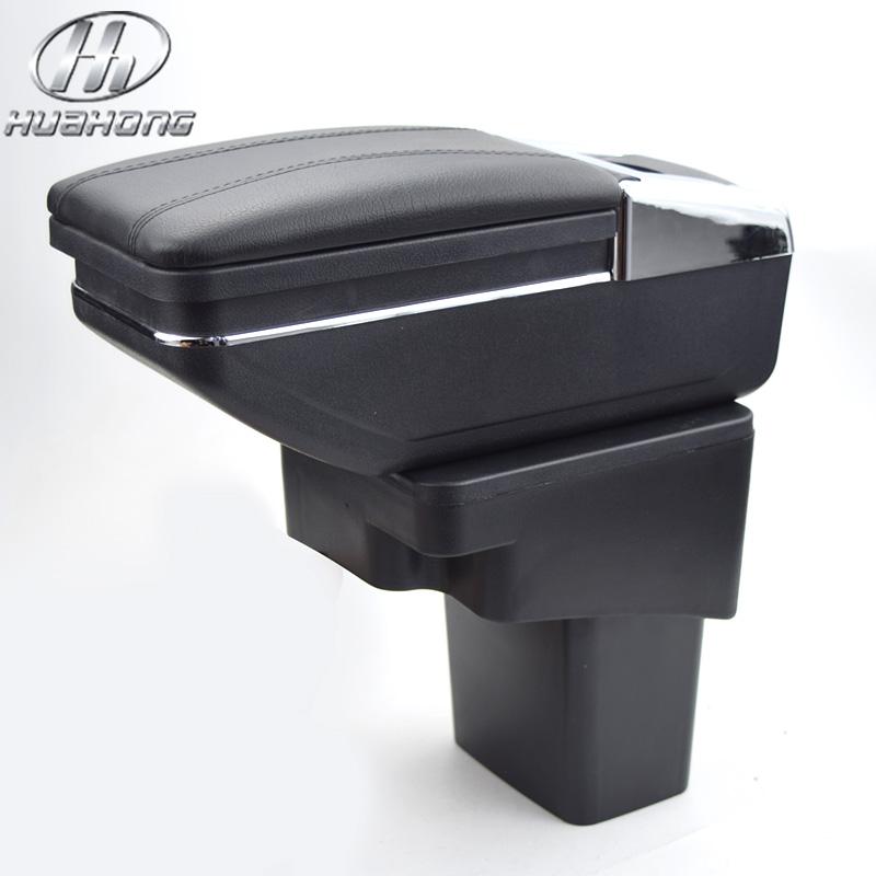 Prix pour Mise à jour 8e pour hyundai solaris/verna/grand avega boîte accoudoir central boîte de contenu de Magasin avec porte-gobelet cendrier accessoires