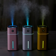 Ultrasonic Air Humidifier Aroma Diffuser with LED Night Light USB Portable Aromatherapy Mist Humidifiers Mini Car Air Purifier цена и фото