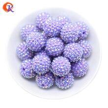 R36 сердечный дизайн 20 мм 100 шт./лот фиолетовый массивный горный хрусталь бусины массивные бусины для изготовления ожерелья CDWB 516025