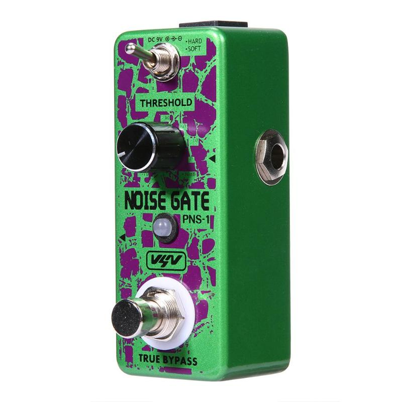 Electric Guitar Effect Pedal VSN PNS-1 Electric Guitar Noise Gate Pedal True Bypass Guitar Effect Pedal loop effect pedal 3 way looper switcher guitar effect pedal true bypass electric guitar parts accessories