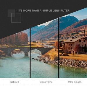 Image 5 - Bộ Lọc Ống Kính 37Mm CPL + UV Cho YI 4K Máy Camera Thể Thao Ống Kính Nắp Bảo Vệ Adapter Ring