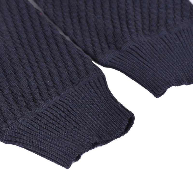 Winter Fashion Solid Wool Pull Homme Sweater Men Casual V-Neck Button Pullover Autumn Slim Fit Long Sleeve Mens Knitted Sweaters