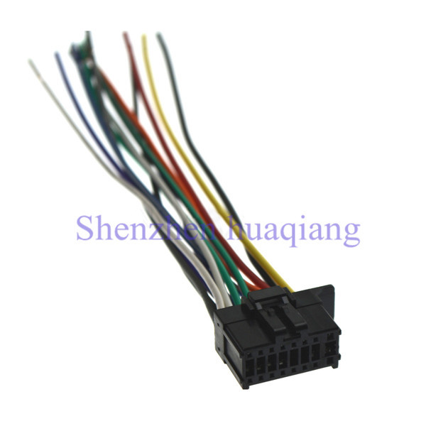Car ISO Harness Stereo Wire Adapter Wiring Connector Cable for Pioneer 2350 car iso harness stereo wire adapter wiring connector cable for pioneer deh 2300 wiring diagram at eliteediting.co