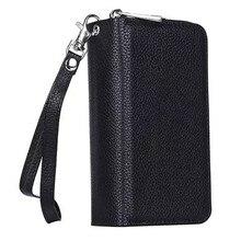 Роскошные молния сумки кошелек кожаный чехол для Samsung Galaxy S4 I9500 I9502 I9505 Телефон откидная крышка сумки женщины кошелек