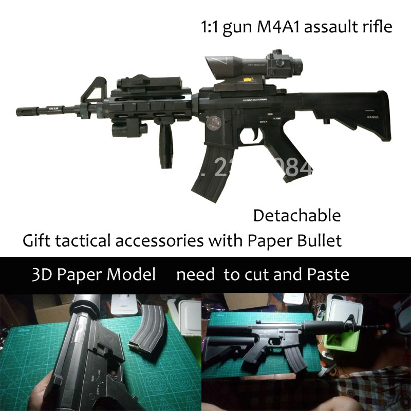 paper machine gun