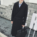 Men trench coat for  autumn and spring, simple row of cardigan in the style of casual style, jackets coat  outwear  trench coat