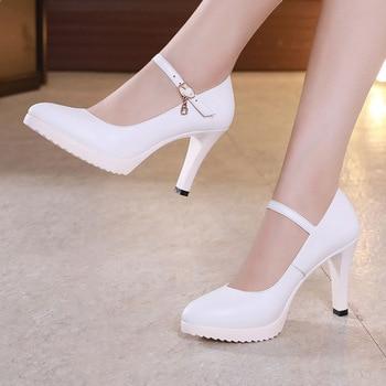 123163d95 Серебристые свадебные туфли на блочном каблуке; женские туфли ...