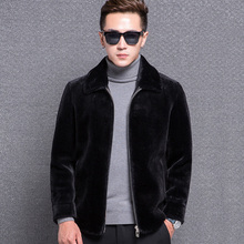 1771 New Fashion Sheep Fur Coat Man Winter Clothes Men Wool Coat Men Short Jacket Coat