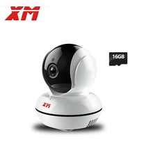 XM 1080P 2.0MP +16GB SD Card HD Wifi IP Camera Pan/Tilt Night Vision Security Camera P2P CCTV Cam with IR-Cut Baby Monitor