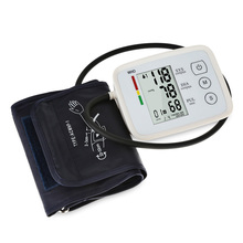 купить Digital Arm Blood Pressure Monitor medical equipment meter electronic automatic sphygmomanometer  heart rate monitor Tonometer в интернет-магазине