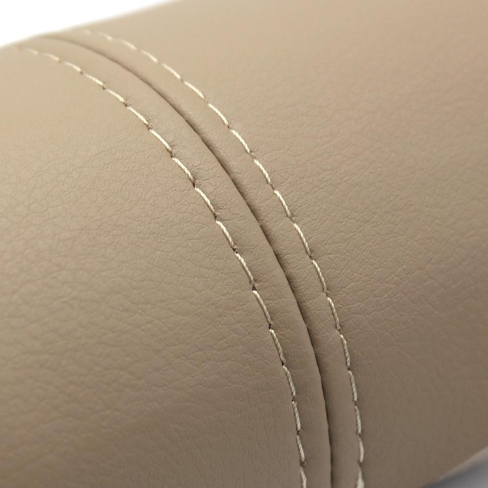 Image 5 - 1 para przód/tylna klapka uchwyt panele podłokietnik skóra z mikrofibry listwa wykończeniowa do Honda CRV 2007 2008 2009 2010 2011 W/armaturaListwy wewnętrzne   -