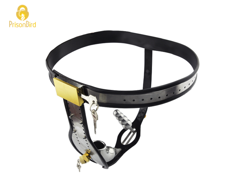 Factory (Amazing) Price Stainless Steel Male Underwear Chastity Belt For Party A182-1 plug underwear