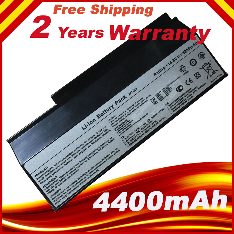 8 Cell <font><b>Battery</b></font> For <font><b>ASUS</b></font> G53 G53JW G53Sw G53Sx <font><b>G73</b></font> G73Jh G73Jw VX7 A42-<font><b>G73</b></font> free shipping image