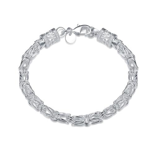 Silver Boss Bracelets Man...