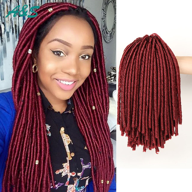 900 14 Quot High Quality Soft Locs Jumbo Synthetic Hair Weave