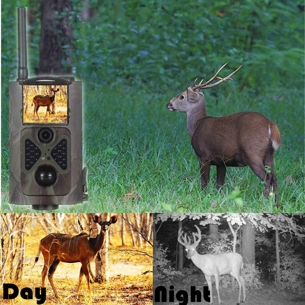 HC300M Hunting Camera Infrared Night Vision Trail Hunting Scouting Ghost Camera Take 12MP Image & 1080p Video monbento
