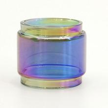 Kolorowe Rainbow wymiana szklanej rurki (pełne szkła okno) dla Vandy Vape Kylin V2 atomizer do tanku RTA 5 ML KYLIN II tanie tanio Szklana Rurka Rainbow Replacement Glass Tube Vandy Vape Kylin V2 RTA Szkło VapeSoon Single package with Security Code