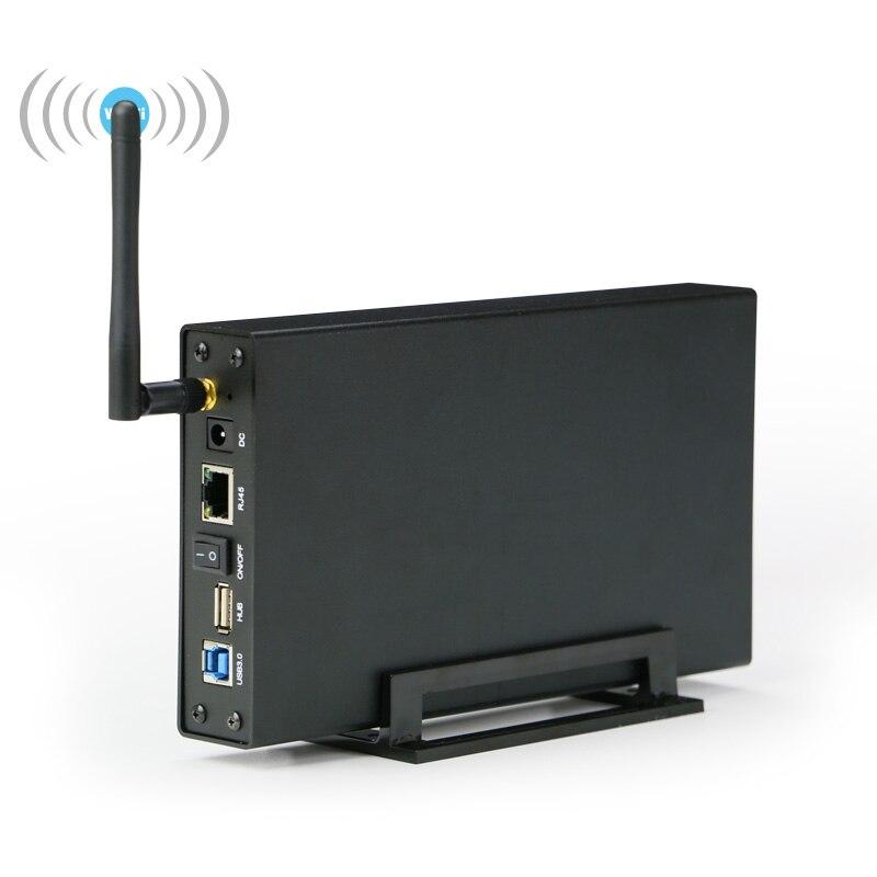 Blueendless Sata a USB 3.0 hd externo Caddy Nas Wifi Ripetitore Amplificador Wifi Hard Disk Esterno Ripetitore Senza Fili di Custodia