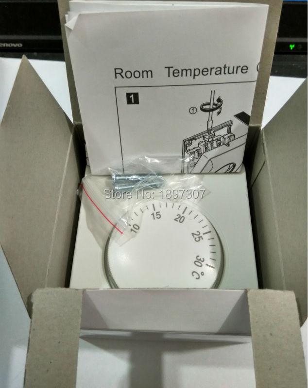220VAC mehaaniline temperatuuriregulaator ruumikütte termostaat - Mõõtevahendid - Foto 6