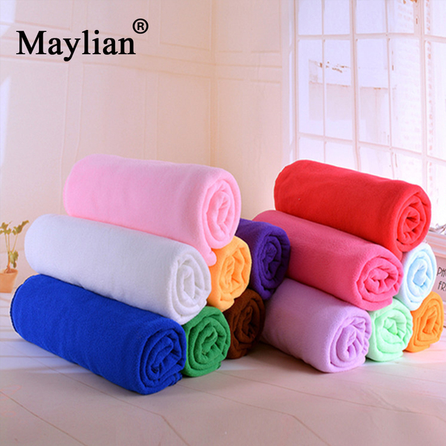 Summer Sports quick-dry Microfiber 70*140cm Towel For Adults Absorbent Home Hotel Bathroom Bath Towels Swimwear Shower T130