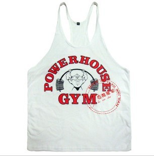 Blanco Hombre Extra-Large Golds Gym Gold/'s Gym GGVST145 Mens GymSoft Vest Camiseta