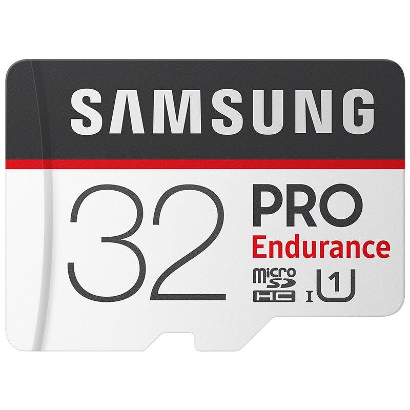 Original SAMSUNG Micro SD 32gb Memory Card 64 Gb Microsd 128gb TF Cards Class 10 Endurance Pro Microsdhc For Drone DVR Monitor