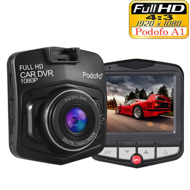 2019 New Original Podofo A1 Mini Car DVR Camera Dashcam Full HD 1080P Video Registrator Recorder G-sensor Night Vision Dash Cam 1