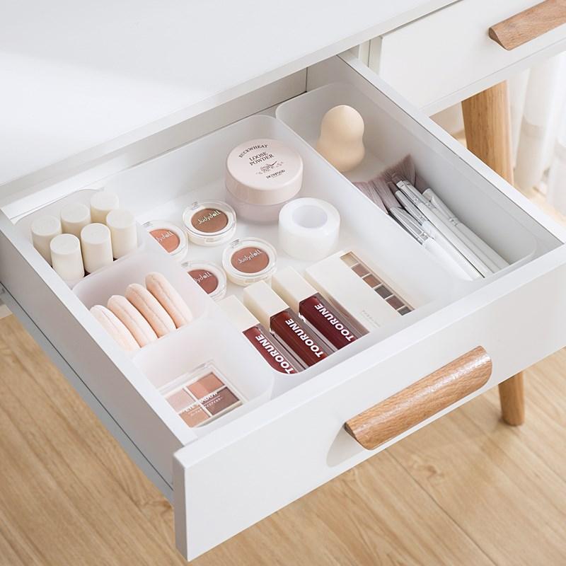 Creative Drawer Organizer Plastic Storage Box Underwear Trinket Container Bathroom Combination Drawer Box Kitchen Organization