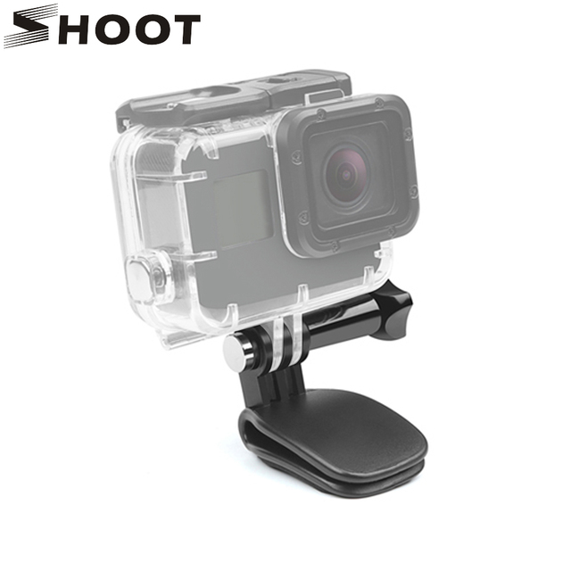 9d3ee73a SHOOT Mini Hat Clip Mount for GoPro Hero 7 6 5 Black 4 Session SJCAM SJ4000  Yi 4K H9 Action Camera Go Pro Hero 7 6 5 Accessories