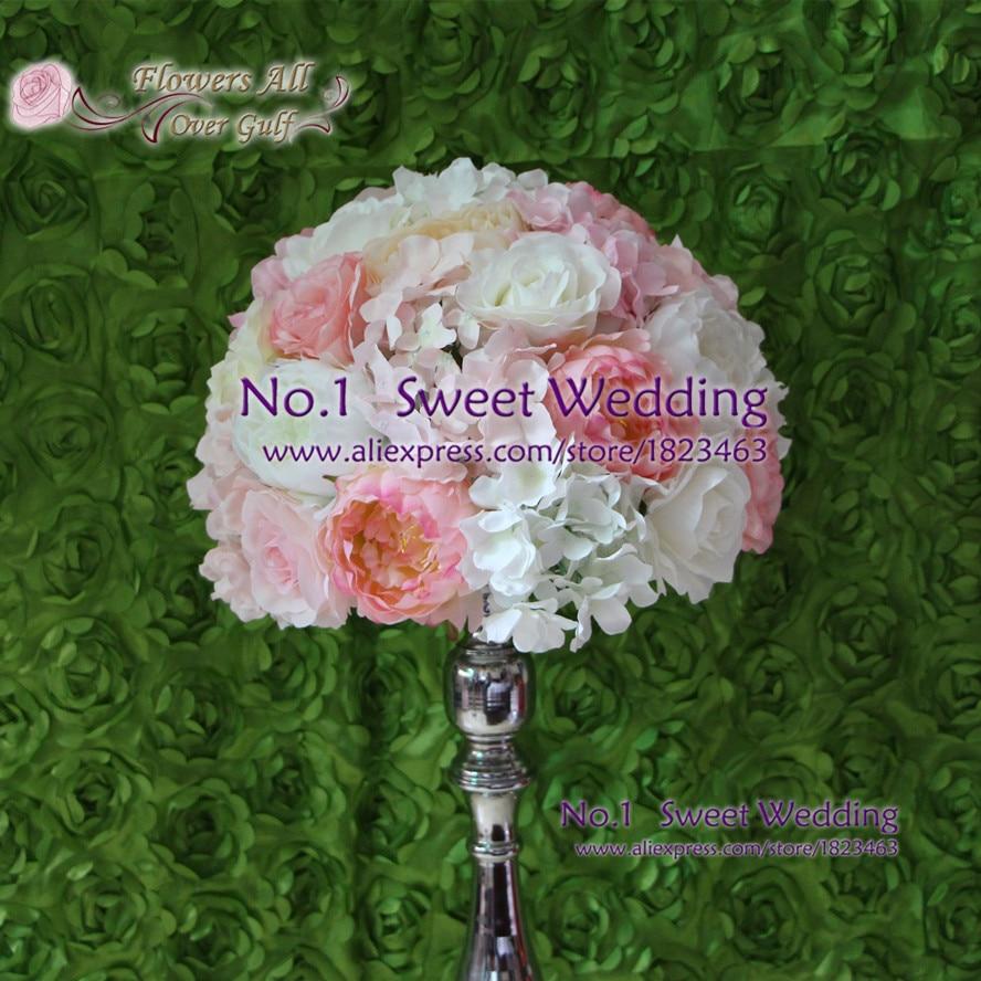 Flowers All Over Gulf Table Centerpiece Wedding Flower Wall