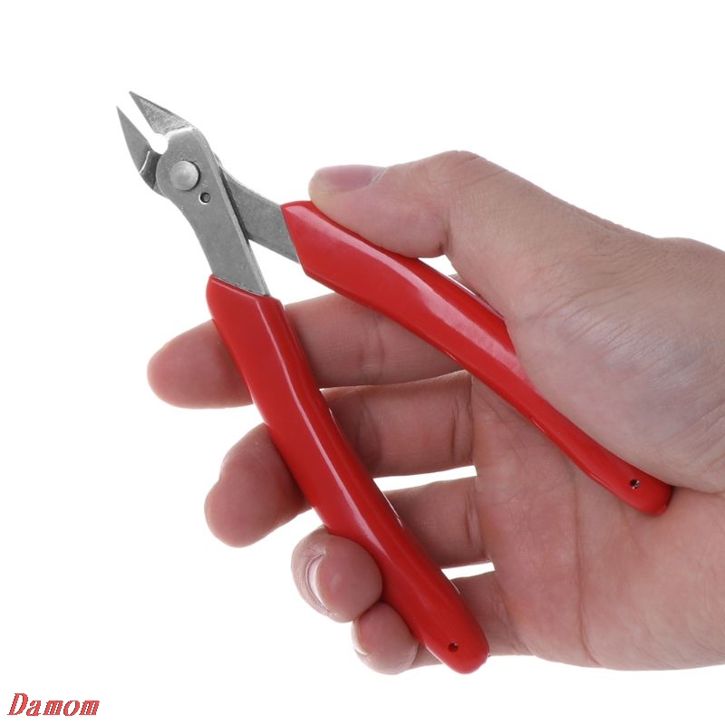 Cutting Pliers Jewelry Wire Plier Flush Cable Cutter Flat Side Snips Hand Tool