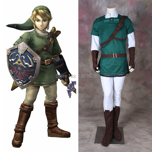 good quality japanese anime halloween costumes cosplay for men adult the legend of zelda link cosplay sc 1 st aliexpresscom