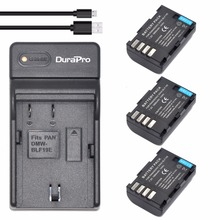 3pc DMW-BLF19 DMW BLF19 BLF19 Rechargeable Li-ion Battery + USB Charger for Panasonic Lumix DMC-GH3 DMC GH3 GH4 DMC-GH4 Camera